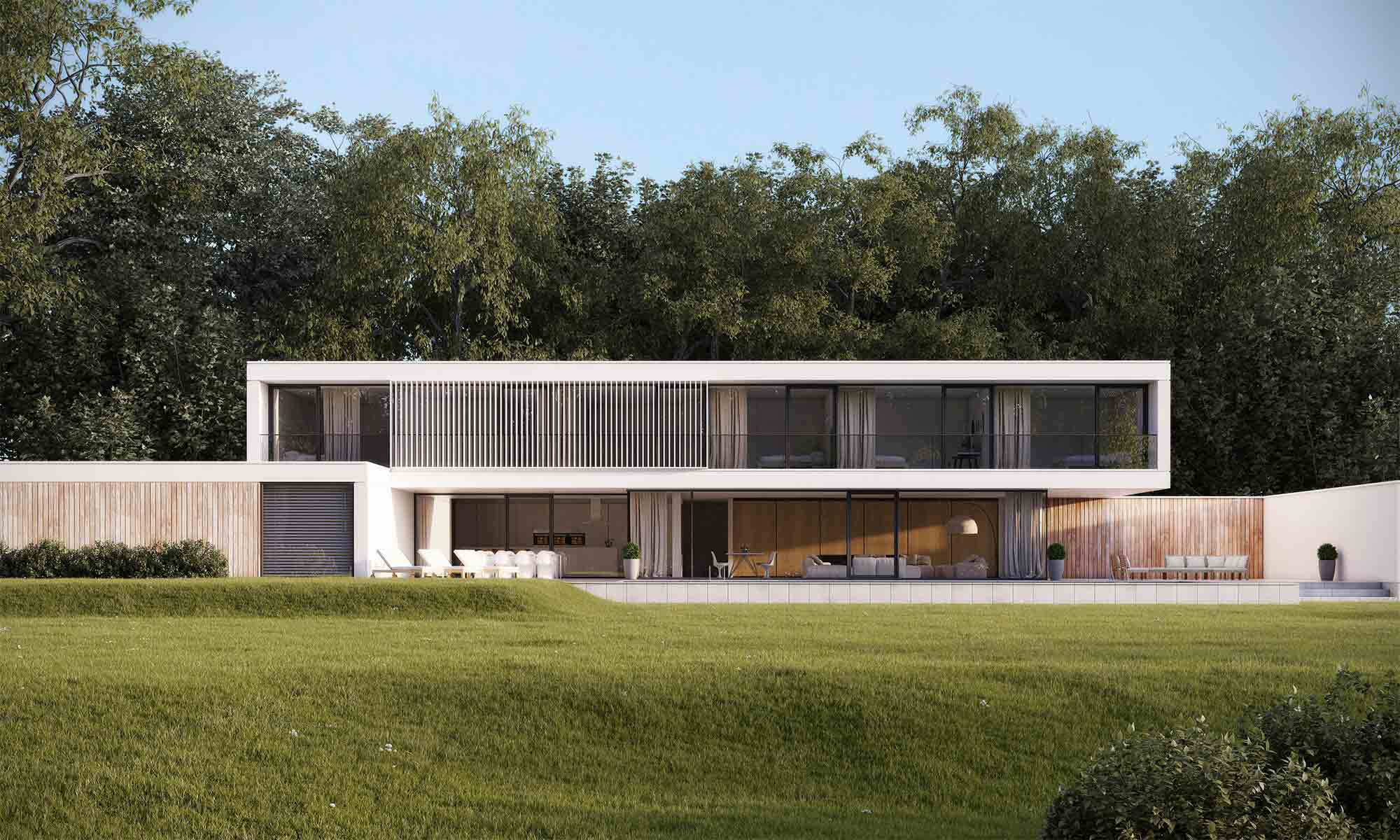 Modern House Architectural Visualisation CGI
